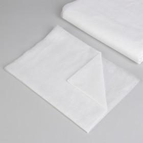 Простыня одноразовая, плотность 12 г/м2, спанбонд, 140 × 200 см, цвет белый