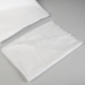 Салфетки косметические, хлопок, 40 × 40 см, 100 шт