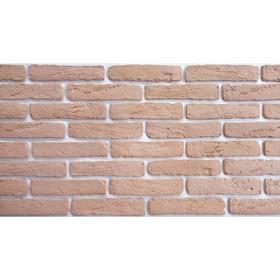 Гипсовая плитка «Рим», светло-розовый оттенок №3, 1 кв м
