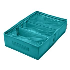 Кофр для сапог «Милан», 53х34х12 см, 2 съемные перегородки