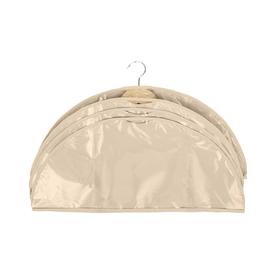 Чехлы-накидки на вешалку «Каир», 56х24 см, 4 шт, цвет бежевый