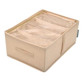 Кофр для обуви «Каир», 34х48х20 см, 4 ячейки
