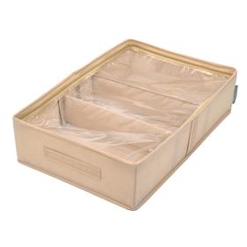 Кофр для сапог «Каир», 53х34х12 см, 2 съемные перегородки