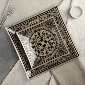 "Сервиз столовый на 6 персон ""Эльмира"": 6 тарелок 20 см, 1 тарелка 30 см"