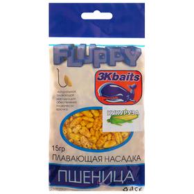Пшеница плавающая FLUPPY кукуруза, 15 г Ош