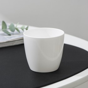 Вазон «Матильда», 175 мл, цвет белый