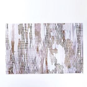 """Коврик для дома 100×160 см """"Нега"""", цвет коричневый"""