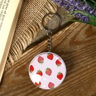 Box-keychain round Fruit MIX 2,3x4,5x4,5 cm