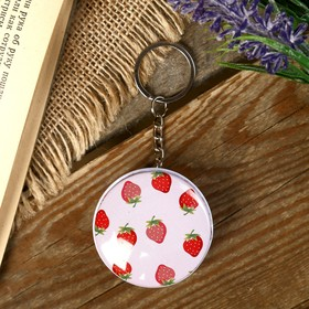 Box-keychain round Fruit MIX 2,3x4,5x4,5 cm