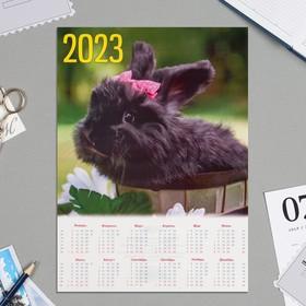 """Календарь листовой А4 """"Символ года - 2022 - 8"""""""