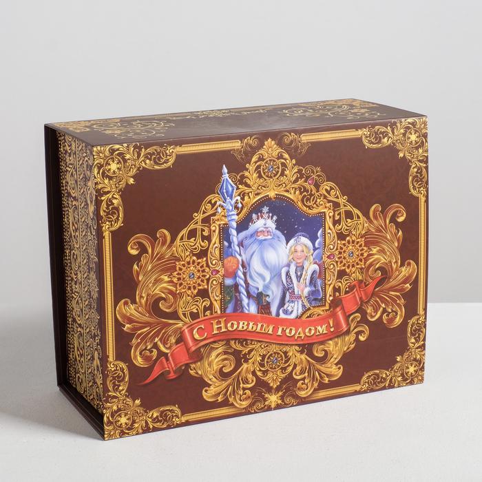 Подарочная коробка-трансформер «С Новым Годом!», 25х20х11 см