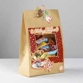 Пакет подарочный «С Новым годом», набор для создания, 15.5 × 28.5 см