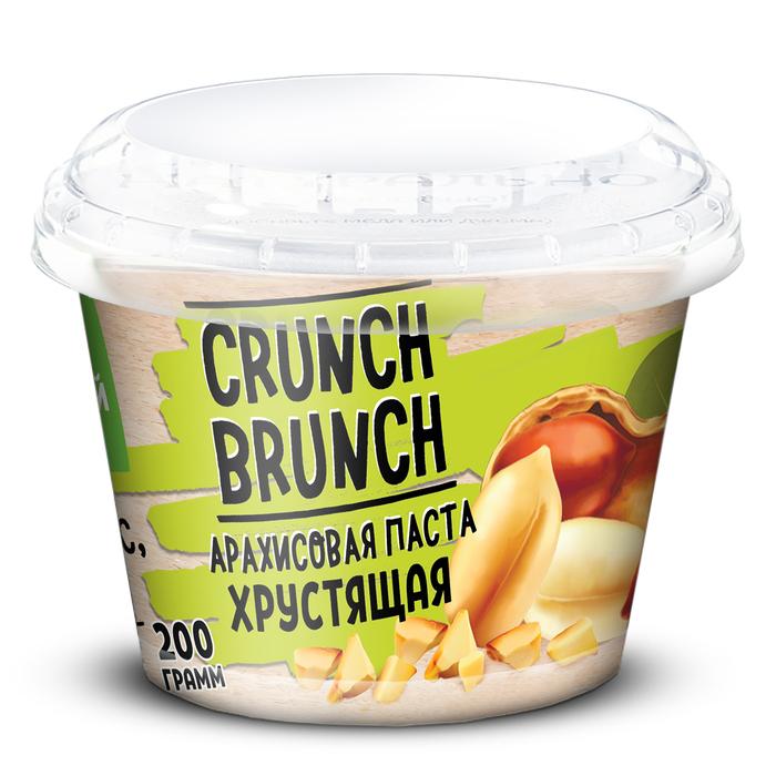 Арахисовая паста «СRUNCH-BRUNCH» Хрустящая 200г