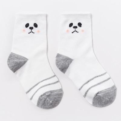 """Носки детские, """"Панда"""" цвет белый, р-р 12-14"""