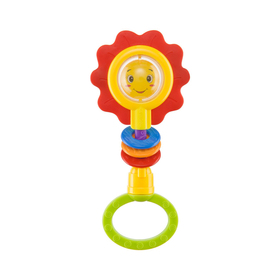 Погремушка Happy Baby Flower Twist, от 3 месяцев