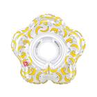 Круг для плавания Happy Baby Swimmer, 0-12 месяцев, цвет banana