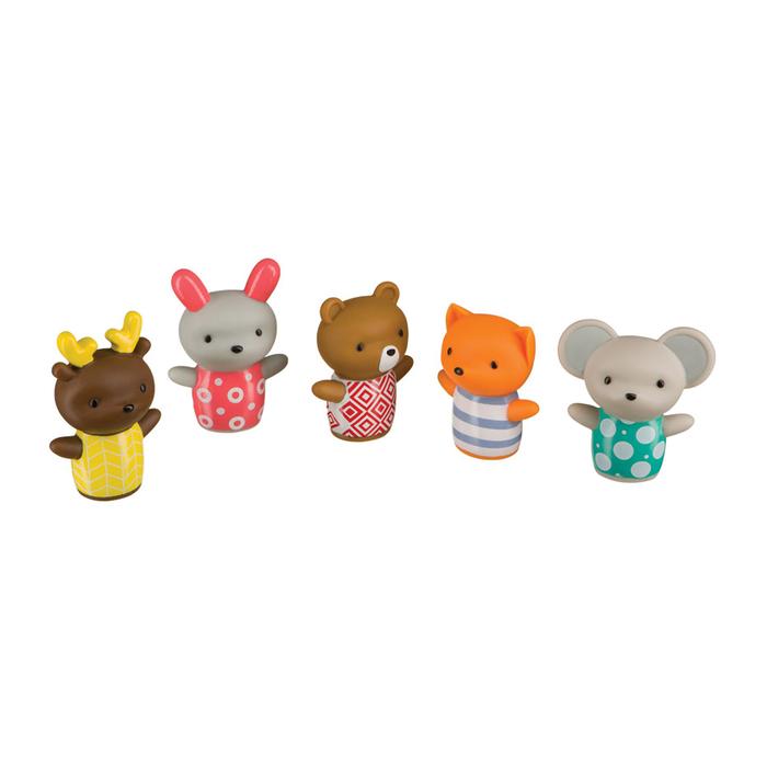 Набор игрушек на пальцы Happy Baby Little Friends, от 6 месяцев, 5 шт.