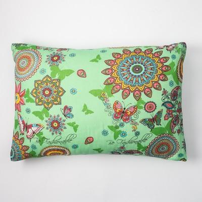 Наволочка Экономь и Я 50×70 «Марокко» цв. зелёный, 100 г/м², 100%хлопок, бязь