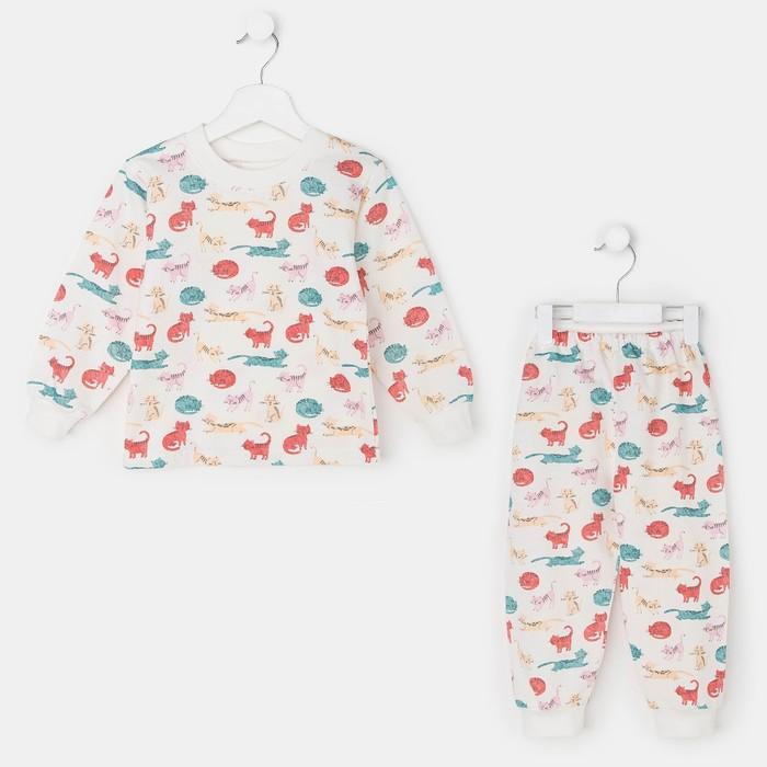 Пижама для девочки «Кошки», рост 104 см
