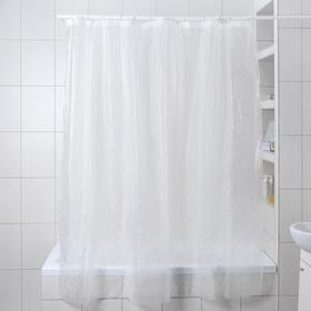 """Штора для ванной 180×180 см """"Пелена"""", EVA"""