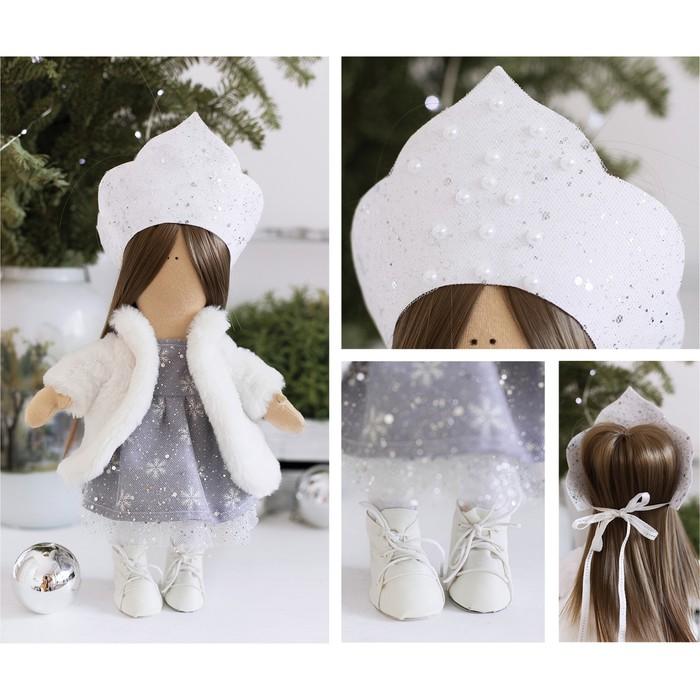Интерьерная кукла «Снегурочка», набор для шитья, 22.4 × 5.2 × 15.6 см - фото 691719
