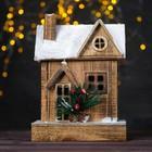 """Новогодний световой домик """"Классика"""" 9,5×16,5×23,5 см"""