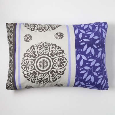 "Pillow case and I Save 50×70 ""Tenderness"" of the flowers.purple, 120 g/m2, 100% cotton, calico"