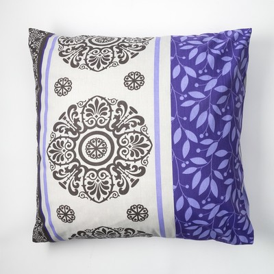 "Pillowcase Economize and I 70×70 ""Tenderness"" of the flowers.purple, 120 g/m2, 100% cotton, calico"