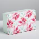 Подарочная коробка «Цветы», 20 × 12.5 × 7.5 см