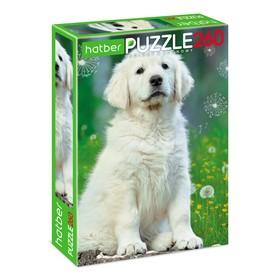 Пазл 260 элементов «Белый щенок»