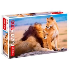Пазл 1000 элементов «Львиное царство»