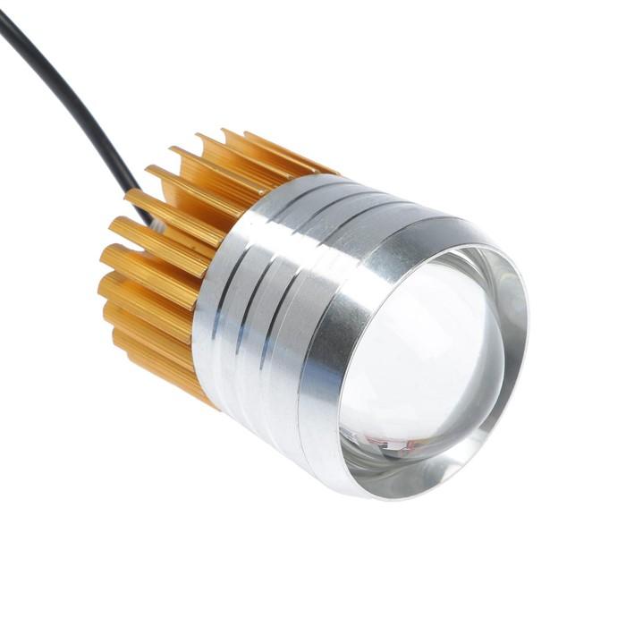 Светодиодная LED фара, IP67, 10Вт, направленный линзованный свет