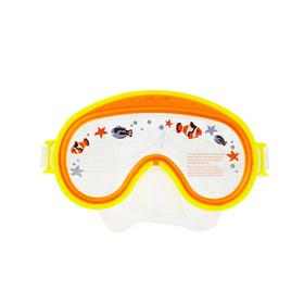 Маска для плавания 'Морское обозрение', от 3 до 8 лет, цвета МИКС 55911 INTEX Ош
