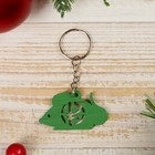 "Keychain tree ""mouse - Ruble"" 2,9x5 cm"