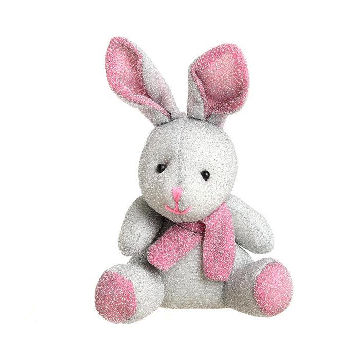 Мягкая игрушка-подвеска «Зайка в шарфе», цвета МИКС