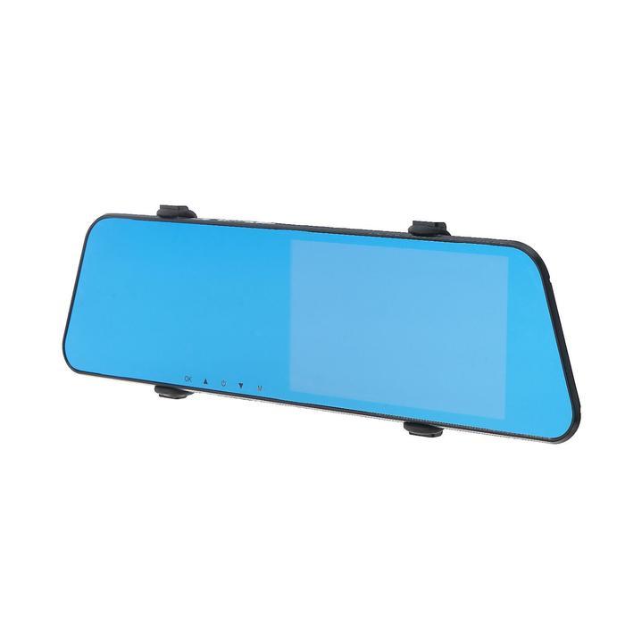Видеорегистратор автомобильный две камеры, разрешение HD 1080P,  IPS 5.0,  угол обзора 170°   433106