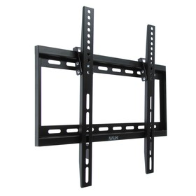 """Кронштейн VLK TRENTO-34, для ТВ, наклонный, 26-65"""", 32  мм от стены, черный"""