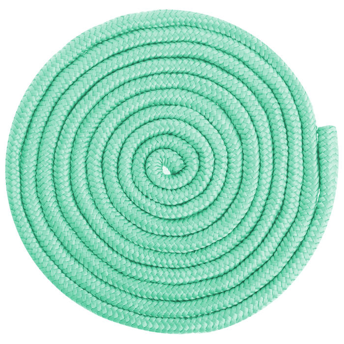 Скакалка для гимнастики 3 м, цвет мятный
