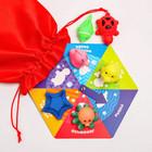 Настольная игра для малышей лото «Морские жители» - фото 105527761