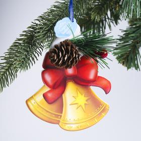 Подвеска на ёлку рождественская «Колокольчики»