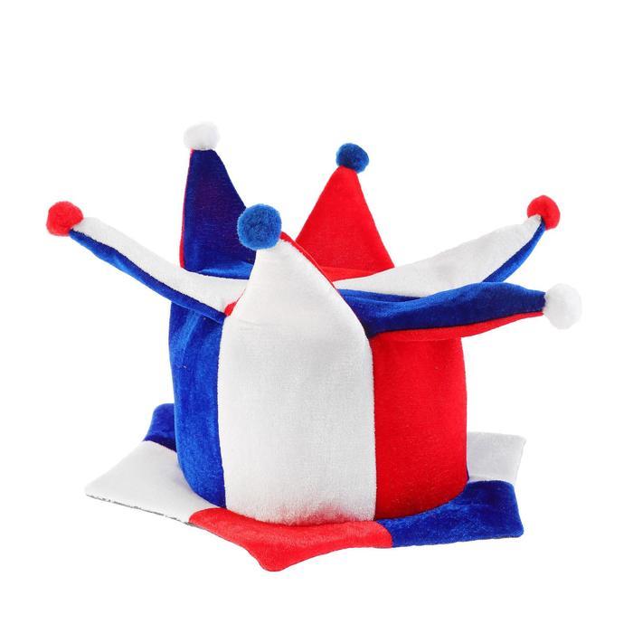 """Карнавальная шляпа """"Триколор"""""""