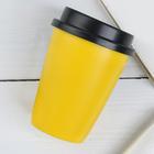 Термостакан желтый   340 мл