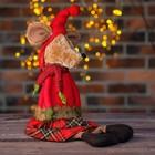 Мягкая игрушка «Мышка» клетчатый сарафан - фото 105497951
