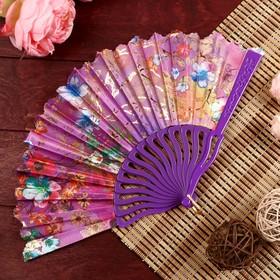 "Veer plastics, textiles bending ""Abundance of flowers"" gold MIX 22.5 cm"