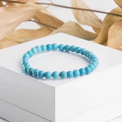 """Bracelet ball 4 """"new Turquoise"""""""