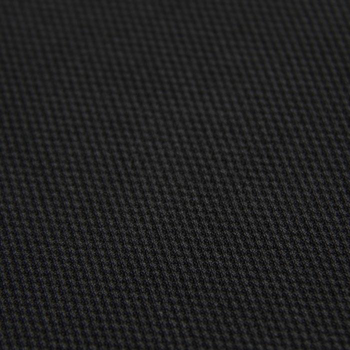 Трикотаж плательный, даймонд, ширина 150 см, цвет чёрный 012