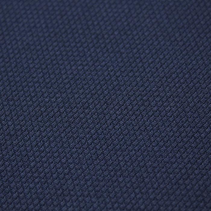 Трикотаж плательный, даймонд, ширина 150 см, цвет тёмно-синий 011