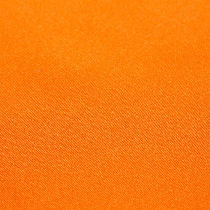Трикотаж плательный, бифлекс, ширина 150 см, цвет оранжевый неон 012