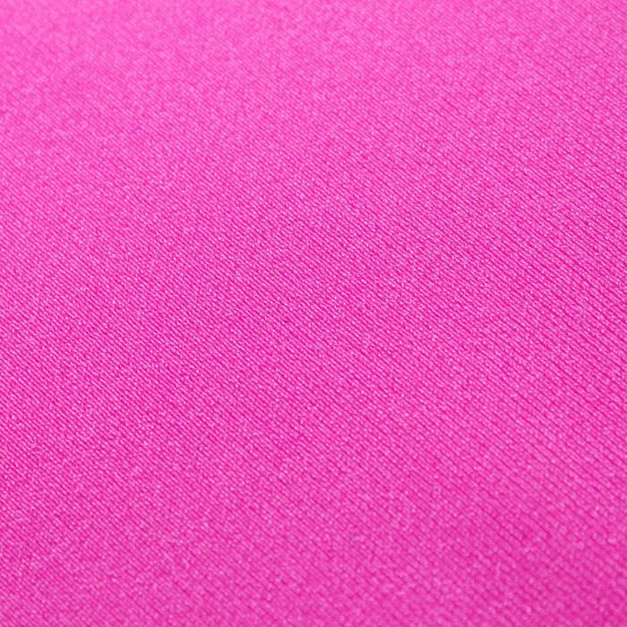 Трикотаж плательный, бифлекс, ширина 150 см, цвет розовый неон 010