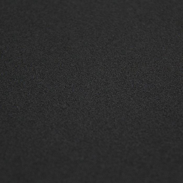 Трикотаж плательный, скуба креп, ширина 150 см, цвет чёрный 006